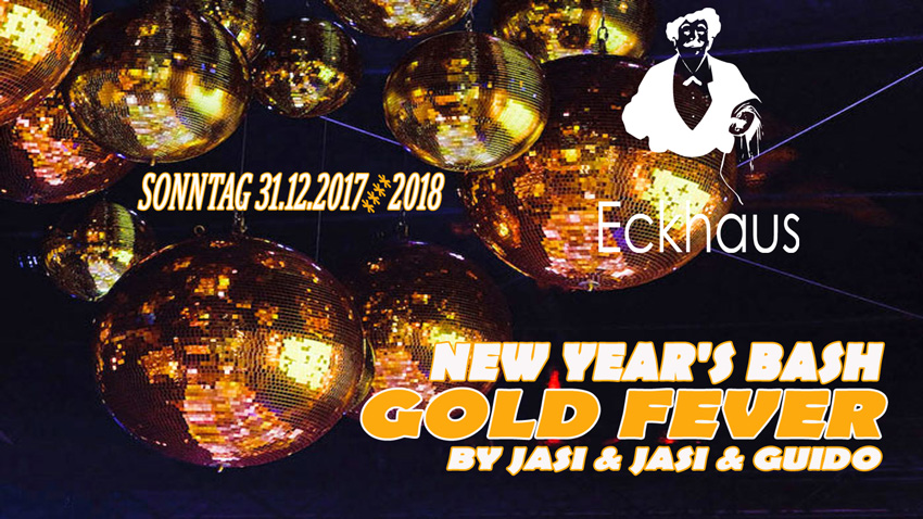 NEW YEAR'S BASH GOLD FEVER